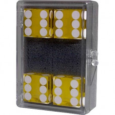 Dice 4-pack yellow...