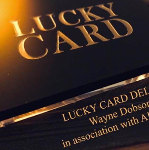 LUCKY CARD (carta de la suerte)...