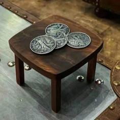 MINI MESA para monedas - JL