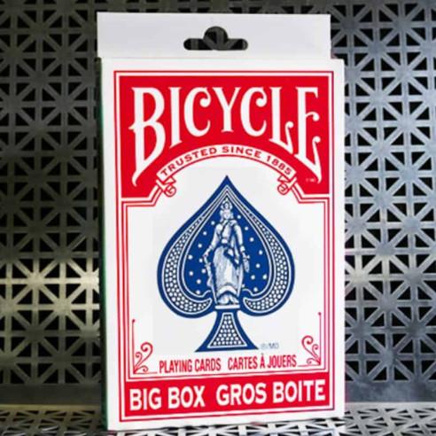 BARAJA BICYCLE GIGANTE - ROJA (NUEVO...