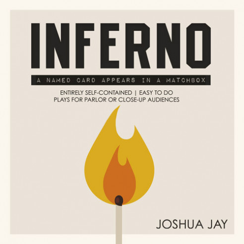INFERNO (DVD + GIMMICKS) -  JOSHUA JAY