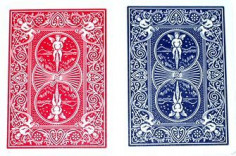 Pack Shimmed Bicycle Cards...