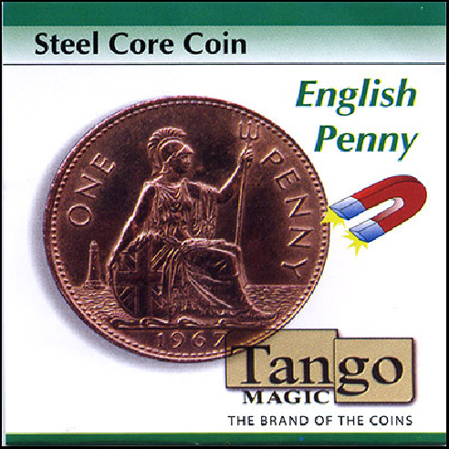 Steel Core Coin English Penny by Tango