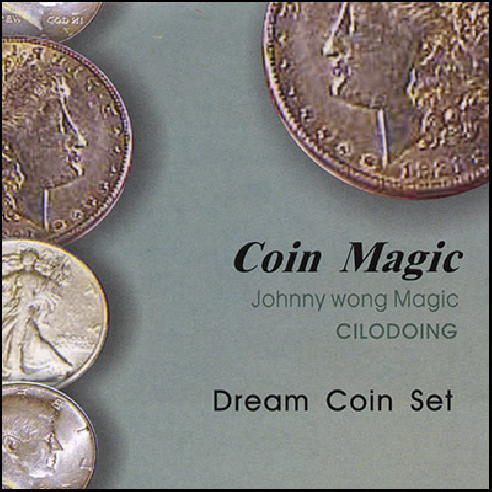 Dream Coin Set (with DVD) by Johnny Wong
