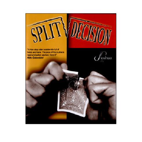 SPLIT DECISION - JOSHUA JAY (DVD +...