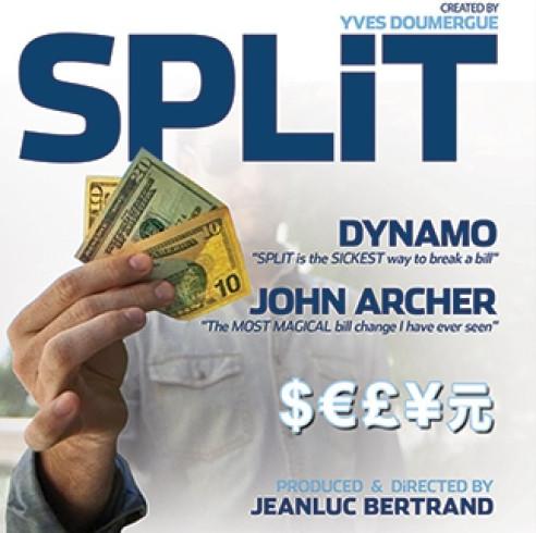 SPLIT (GIMMICKS + DVD MEDIA)
