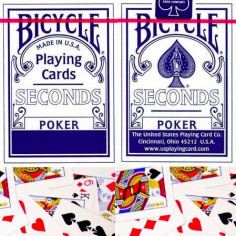 Bicycle Poker Deck Seconds...