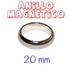 ANILLO MAGNÉTICO PLATA (20mm)