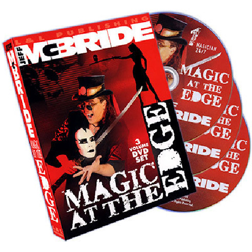 MAGIC AT THE EDGE (3 DVD) - JEFF MCBRIDE