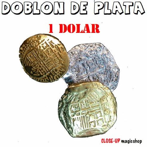 DOBLÓN DE PLATA - 1 DOLAR