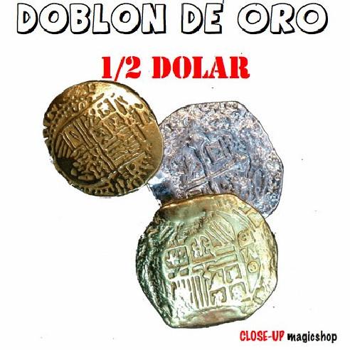 DOBLÓN DE ORO - 1/2 DOLAR