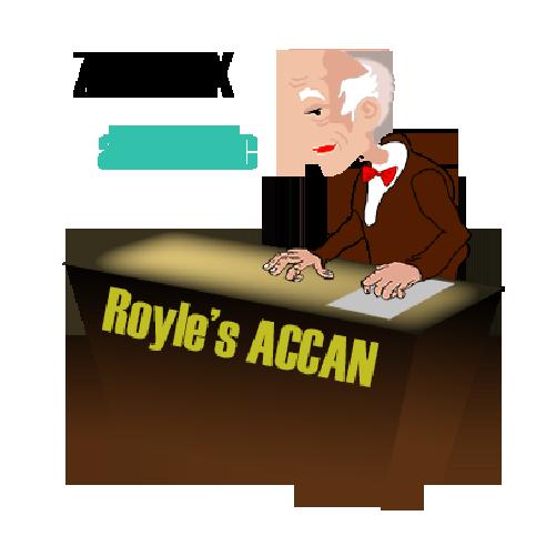 """Royal's ACAAN """"Berglas Style"""" by..."""